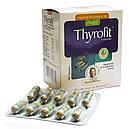 Тирофит (Thyrofit Capsules, Nupal Remedies) для лечения дисфункции щитовидной железы, 50 капсул, фото 3