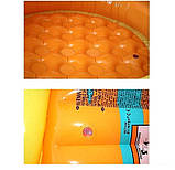 Детский надувной бассейн Intex 57109-1 «Ленивая рыбка» с навесом и шариками 10 шт, фото 4
