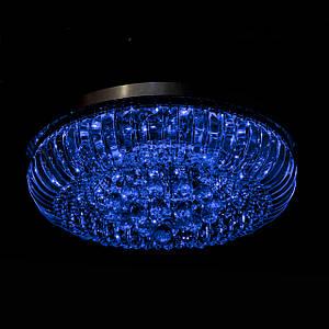 Хрустальная люстрасо светодиоднойподсветкой на 8 лампочек P5-E1691/8/CH