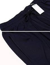 Штаны спортивные женские IN'Voland French Terry Yoga высокая посадка легкие синие M, фото 2