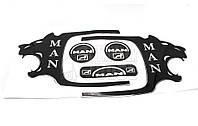 Декоративная наклейка MAN на ручку двери
