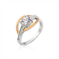 Кольцо с цветным камнем Юрьев 10к 17