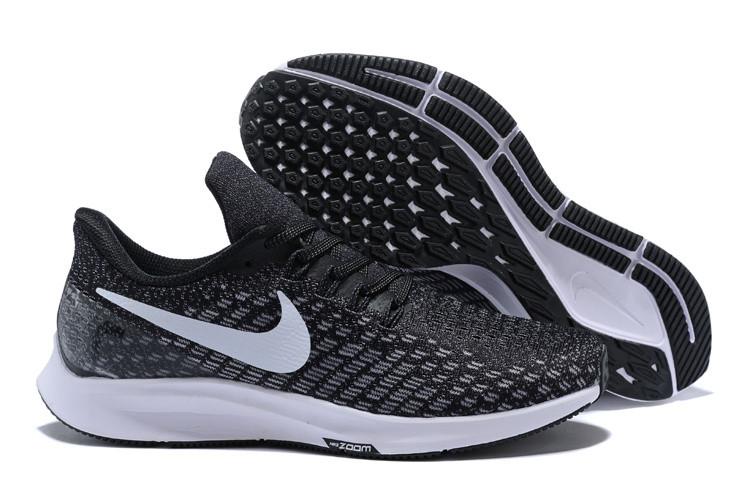 Кроссовки Nike Air Zoom Pegasus 35 Black/Gunsmoke/Oil Grey/White 942855-001 Sneakers Running Shoes мужские