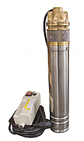 Насос глибинний Optimal 4SKM - 100 з конденсаторною коробкою