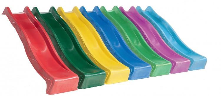 Горка детская игровая пластиковая КВТ Belgium 3 метра.С подключением воды (горка спуск,горка волна)