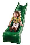 Горка детская игровая пластиковая КВТ Belgium 3 метра.С подключением воды (горка спуск,горка волна), фото 2