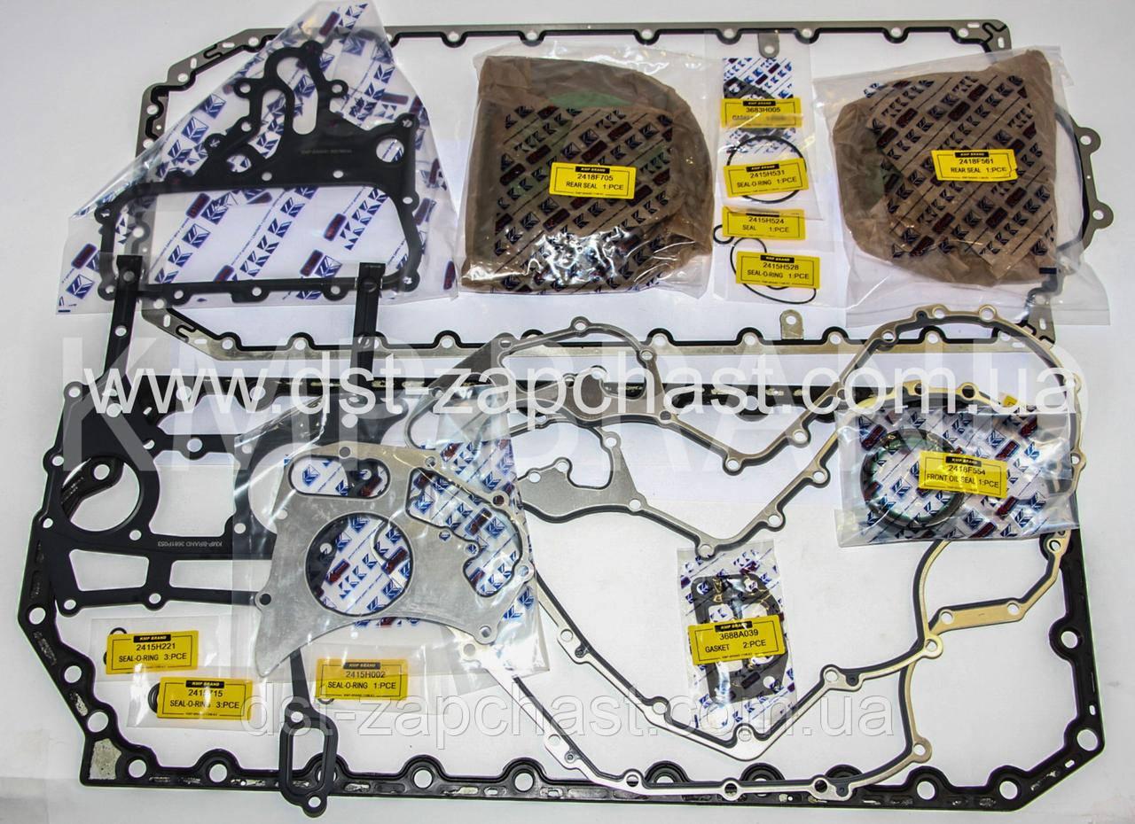 11050115 Набор прокладок нижний (блока цилиндров) для двигателей Perkins 1106C-E66TA, 1106D-E66TA