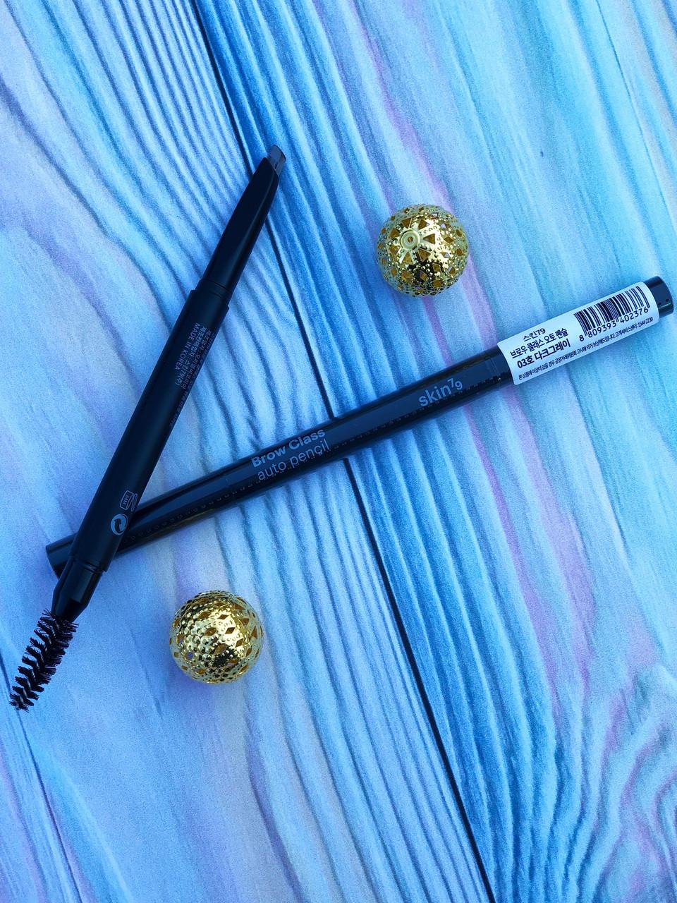 Карандаш для бровей 2 грамма  Skin79 Brow Class Auto Pencil (03)