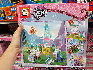 Конструктор Senco SY 1096 My Little Pony Мой маленький пони 359 дет, фото 2