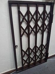 Раздвижные решетки под замки п-образные