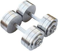 Гантели металлические 2 по 26 кг наборные