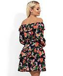 Літнє плаття з квітковим принтом Д-265, фото 2