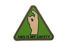 Нашивка SAFETY PVC 1 [8FIELDS] (для страйкбола)