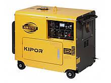 Запчасти на дизельный генератор KIPOR KDE6700T3