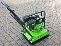 Бензиновая виброплита Zipper ZI-RPE90 уплотнение 25см