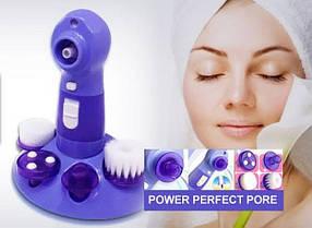 Вакуумный массажер для чистки лица Power Perfect Pore 4 в 1, фото 3