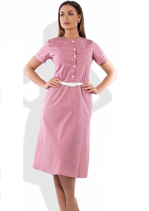 Красивое женское платье А-покроя размеры от XL ПБ-188