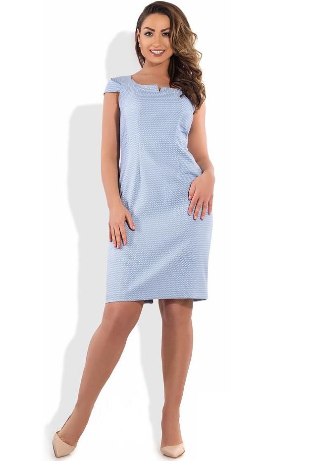 Платье футляр на лето размеры о XL ПБ-197