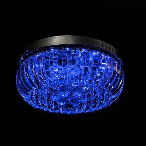 Хрустальная люстра с LED подсветкой на пульте управления на 4 лампочек (хром) P5-E1691/4/CH
