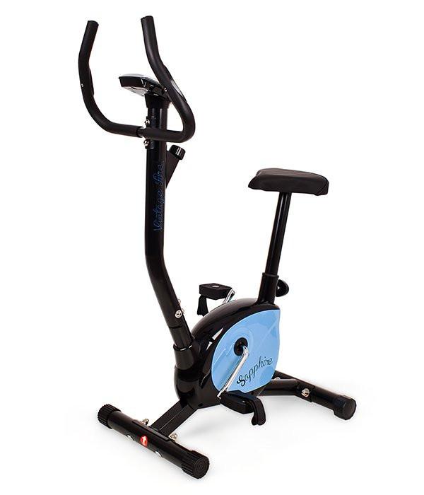 Велотренажер механический Sapphire Vintage (велотренажер для дома велотренажер для похудения)
