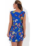 Красивое женское платье мини на лето размеры от XL ПБ-274, фото 2