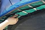 Батут FunFit 435 см защитной сеткой + лестница (Спортивный батут), фото 5