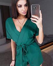 Женский комбинезон креп костюмка №550, фото 3