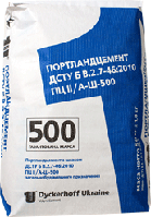 Цемент ПЦ ІІ/А-Ш-500 Вільшанка, 25 кг