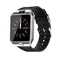 Смарт-часы Alitek Smart Watch DZ09 Original Silver/Black (Умные часы)