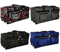 Дорожная сумка на колесах RGL A1 88 л тканевая с выдвижной ручкой, фото 1