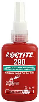 Резьбовой фиксатор проникающий средней прочности Loctite 290, 50 мл