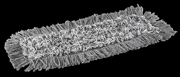 Моп для вологого прибирання Damp 43 з мікрофібри з карманами, 40 см, Vikan (Данія)