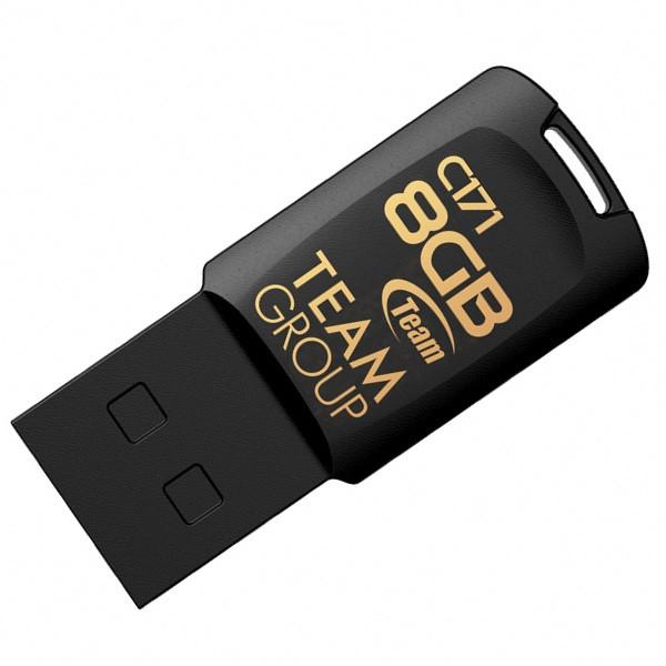 Team USB 2.0 C171 8 GB Black (TC1718GB01)