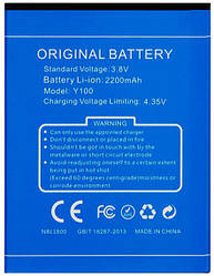 Аккумуляторная батарея для Doogee Valencia 2 Y100оригинал
