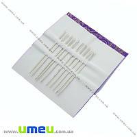 Набор иголок для вышивания №1 (затупленные), 10 шт, 1 набор (SEW-013916)