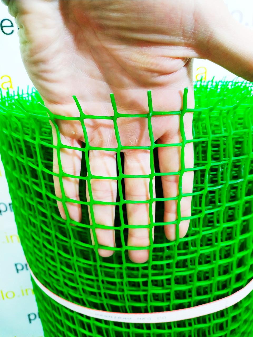 Забор (сетка) садовый, пластиковый. 1.20х30м. 20х20мм ячейка. Иран
