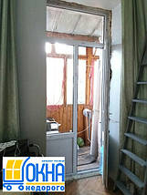 Металлопластиковые двери Глеваха, фото 3