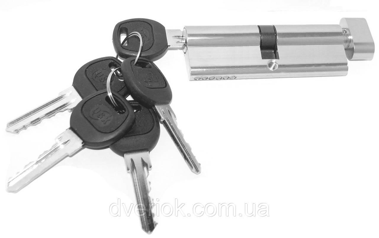 Цилиндровый механизм USK A-90 (45x45) ключ/поворотник