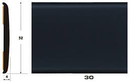 Декоративный молдинг на авто 30 черный 4х52мм