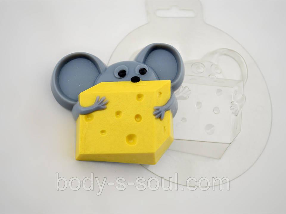 Пластиковая формочка для мыла Сыромания