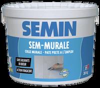 Клей для обоев, прозрачный, Семин (Semin Sem-Murale) 10 кг