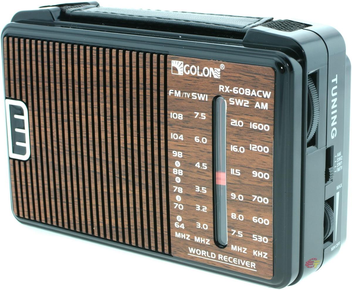 Радиоприемник FM Радио GOLON RX-A608AC