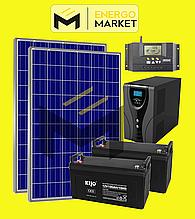 Автономная солнечная электростанция 560 Вт