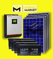 Автономная солнечная электростанция 10 кВт