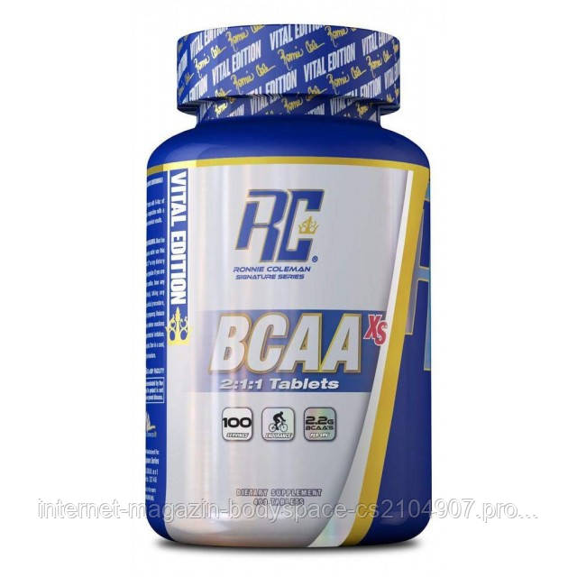 Ronnie Coleman, Бцаа Bcaa-XS Tablets, 400 таблеток