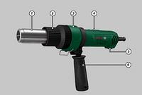 Промышленный фен DWT HLP20-550