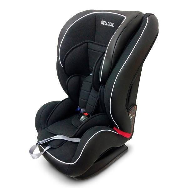 Автокресло Welldon Encore Isofix (Черный) от 9 месяцев до 12 лет