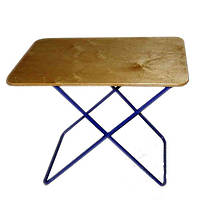Складной стол Пикник для отлыха со стальным каркасом