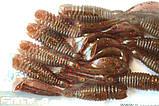 Силиконовая приманка съедобная Червь (Sector Worm), TBR-014, цвет 010, 10шт., фото 5