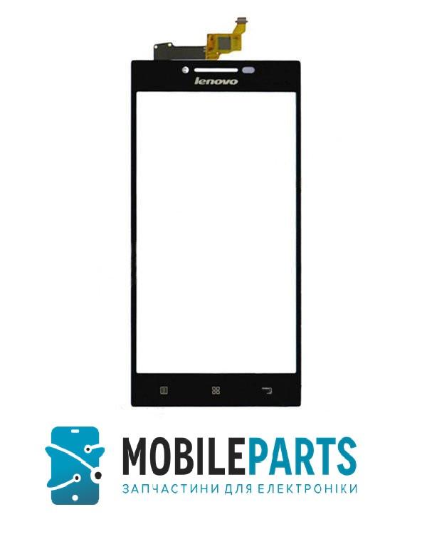 Сенсор (Тачскрин) для Lenovo P70 Lephone 3G (99*55 мм) (Черный) Оригинал Китай